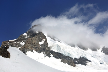 Monch peak in Jungfrau region