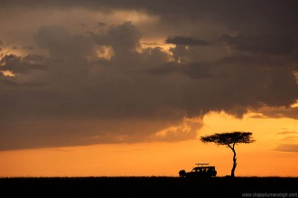 Sundown at Mara
