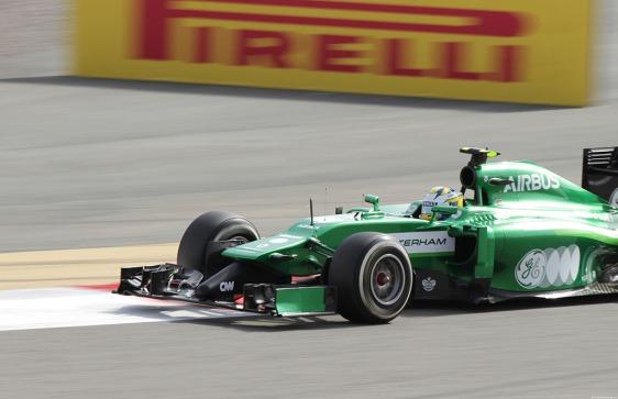 Marcus Ericsson of Caterham-Renault